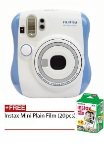 Fujifilm Instax Mini 25 Blue + Plain Film 20pcs (Official Fujifilm Malaysia Warranty)