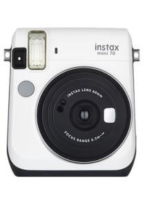 Fujifilm Instax Mini 70 Instant Film Camera (White)