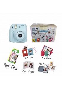 Fujifilm Instax Mini 8 Harajuku Combo Kit (Blue)