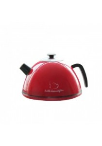 Fashion Supersonic Anion Kettle Humidifier YP-008A - Red