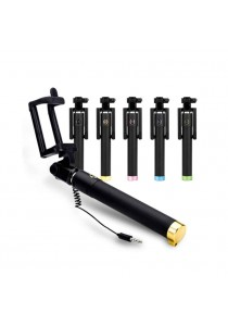 Mini Selfie Monopod With Cable