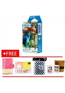 Fujifilm Instax Mini Monster Film 10pcs + Film Box + Card Holder + Photo Frame + Gift Card
