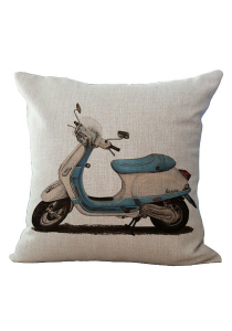 Pillow Case / Cushion Cover - Vintage Motorcycle