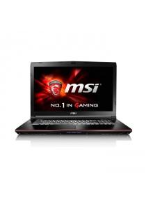 """MSI GE72 6QC-077MY 17.3"""" Apache Gaming Laptop"""