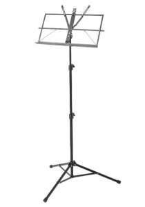 BLW Music Stand with Carrying Bag S-MS (Black)