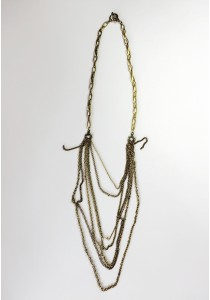 G. Vintage Multi-Strand  Necklace