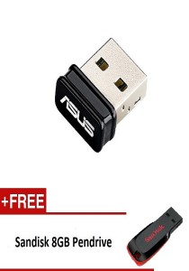 Asus Wireless N USB-N10 Nano USB Adapter