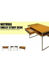 Smiley Writing Table / Study Desk - Wood Grain