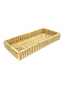 Weave & Woven Rattan Bath Tray (Natural)