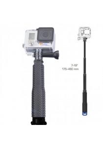 Handheld Telescoping Extension Diving Pole Selfie Stick For Go Pro 2/3/4 - Black