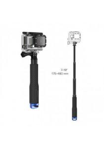 Handheld Telescoping Extension Diving Pole Selfie Stick For Go Pro 2/3/4 - Blue