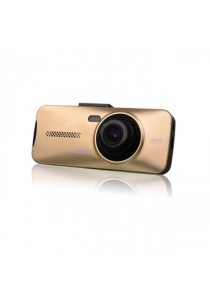 ZX900 1080P FHD Wide Angle 170 Degree 12 Mega CMOS Car Camcorder (Gold)
