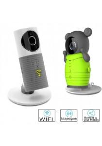 Besteye Dog-1W Clever Dog IR Cut Night Vision Smart Camera - Grey + FREE Cute Bear Cartoon Cover