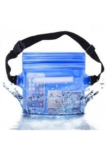 Multifunctional Waterproof Pouch Bag - Blue