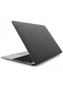 Hard Shell Protective Case for Macbook 12inch Retina Display - Black