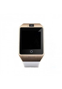Apro M08 Bluetooth Smartwatch With Camera NFC And SIM Card Support For Android - White / Gold