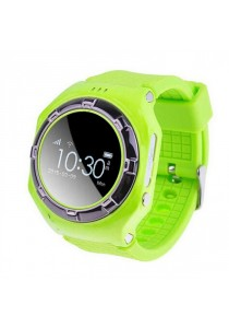 L20 Children GPS Tracker Smartwatch with SOS / Call and Voice Monitor - Green