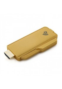 Ezcast Miracast Full HD 1080P Wi-Fi Display Dongle with DLNA/Miracast/AirPlay - Gold