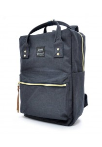 100 % Authentic Anello Square Backpack - Navy