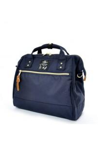 100% Authentic Anello (Regular) Polyester Shoulder Handbag - Navy