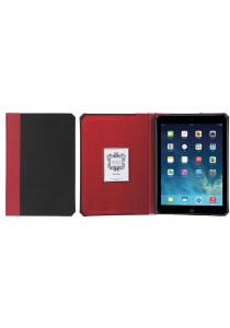 Kuhvuh Memorandum iPad Air - Noir (Black&Red)