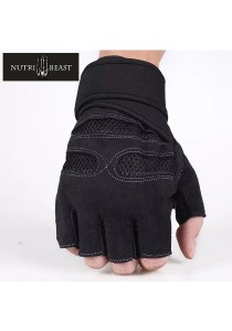 Nutribeast Gym Glove Red M Size