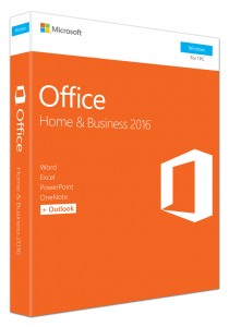Microsoft Office Home and Business 2016 32-bit (T5D-02274)