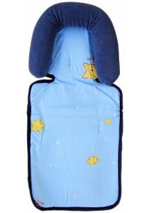 OWEN Baby Basic Head Support - Stars (Blue)