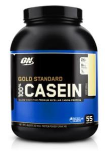 ON Gold Standard 100% Casein Slow Digesting Premium Micellar Casein Protein Creamy Vanilla 4lbs
