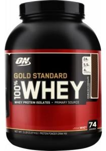 Optimum Nutrition Gold Standard 100% Whey, Chocolate, 5lbs