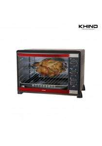 KHIND 52L with Rotisserie Function Electric Oven OT52R (2 Years  KHIND Warranty)