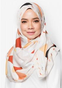 Hijab&Me - Owlbynd Love Me Not (orange brown)