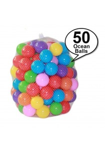 Royalcot 50pcs Colourful Ocean Ball Soft Plastic
