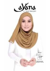 Hijab&Me - AYANA Basic Cantik (Olive Green)