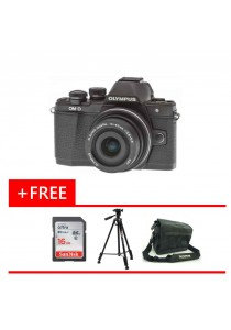 Olympus OMD EM10 MKII 14-42MM EZ + 16GB + Bag + Tripod (Original Malaysia Warranty)