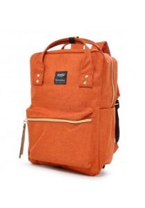 100 % Authentic Anello Square Backpack (Orange)