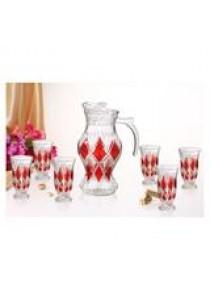 7 pcs Glass Water Sets P0719E