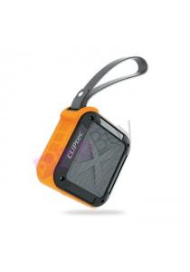CLiPtec Active-Tough Outdoor Portable Bluetooth Speaker PBS262-Orange