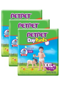 PETPET Day Pants Diaper Mega Packs XXL48 (3packs)