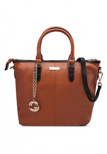 PANGOI Imported and Fully Leather Shoulder Bag PGL-915-006 (Brown)