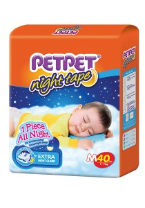 PETPET Night Tape Diaper Jumbo Packs M40