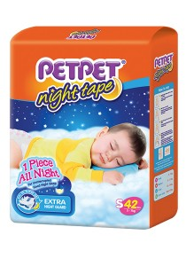 PETPET Night Tape Diaper Jumbo Packs S42