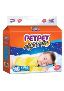 PETPET Night Tape Diaper Mega Packs S66