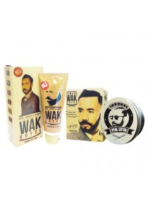 Pomade (100g) & Beard Cream (75ml) by Wak Doyok