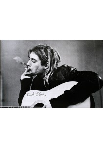 Framed Poster: Kurt Cobain (Smoking) - GB Eye Poster (61 cm X 91.5 cm)