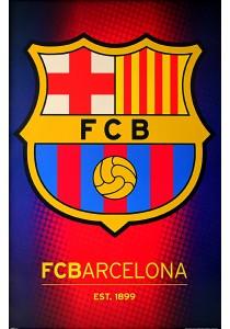 Framed Poster: FC Barcelona (Club Crest) - GB Eye Poster (61 cm X 91.5 cm)