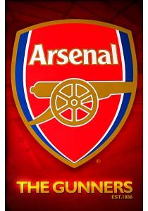 Arsenal FC (Club Crest) - GB Eye Poster (61 cm X 91.5 cm)