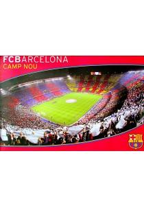 Framed Poster: FC Barcelona Nou Camp - GB Eye Poster (61 cm X 91.5 cm)