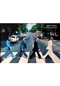 The Beatles (Abbey Road) - GB Eye Poster (61 cm X 91.5 cm)