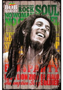 Framed Poster: Bob Marley (Songs) - GB Eye Poster (61 cm X 91.5 cm)